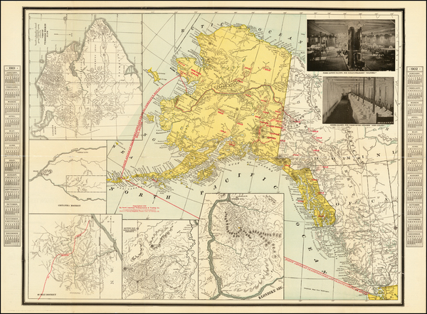 90-Alaska Map By Charles O.  Richardson