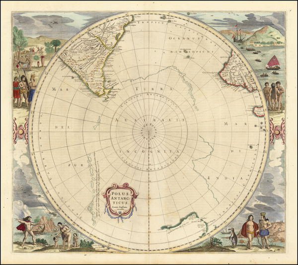 76-Polar Maps and Australia Map By Jan Jansson