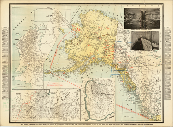 32-Alaska Map By Charles O.  Richardson