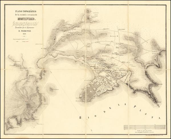 63-Uruguay Map By Pedro Pico