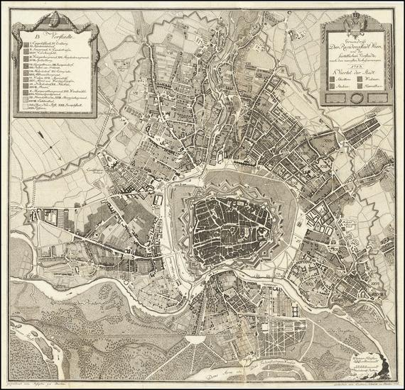 11-Austria Map By Ludwig Schmidt