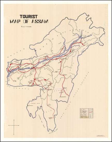 68-India Map By Hindusthan Advertising