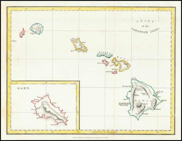 17-Hawaii and Hawaii Map By Henry Fisher