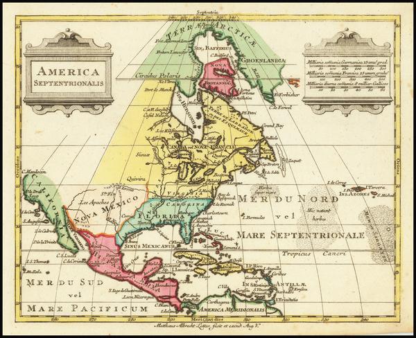 30-North America Map By Mathais Albrecht Lotter