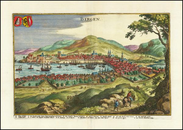 21- Map By Matthaus Merian