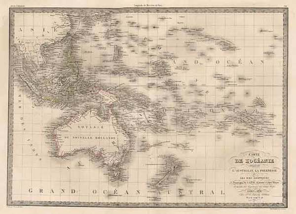 43-Asia, Southeast Asia, Australia & Oceania, Australia, Oceania and Other Pacific Islands Map