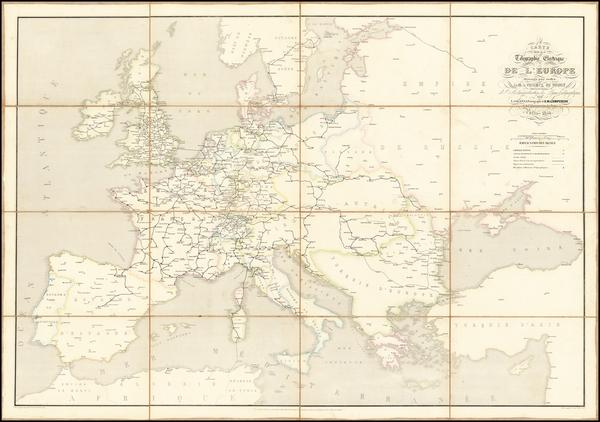 0-Europe Map By L. Sagansan
