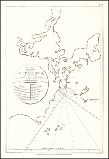 19-San Francisco Map By Jean Francois Galaup de La Perouse