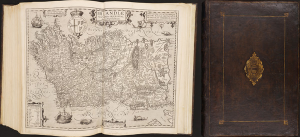 51-Atlases Map By Abraham Ortelius