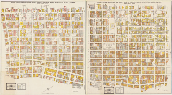 49-Los Angeles and Atlases Map By Sims Survey & Service