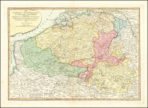 74-Belgium Map By Samuel Dunn
