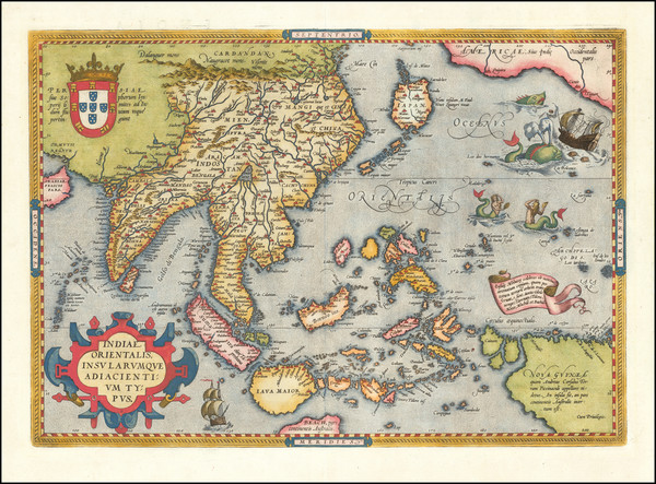 46-Southeast Asia, Philippines, Australia & Oceania, Australia and Oceania Map By Abraham Orte