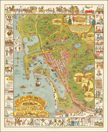 8-California Map By Jo Mora