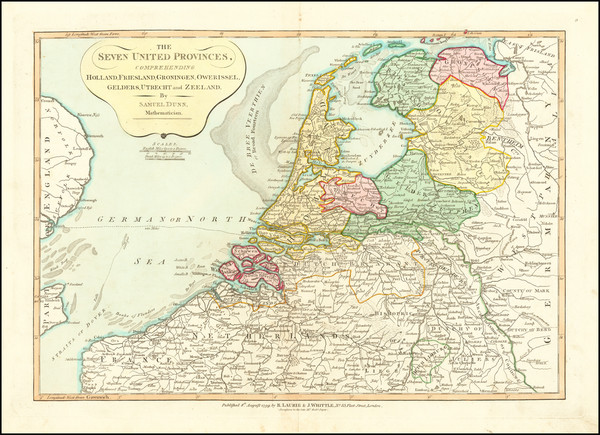 100-Netherlands Map By Samuel Dunn