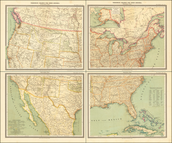 44-United States Map By Carl Flemming