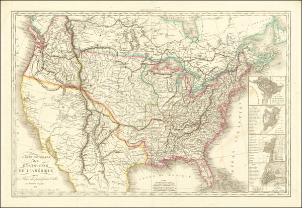 17-United States Map By Eustache Herisson