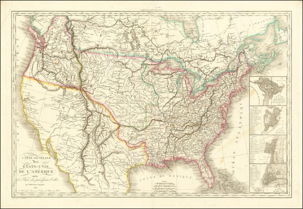 72-United States Map By Eustache Herisson