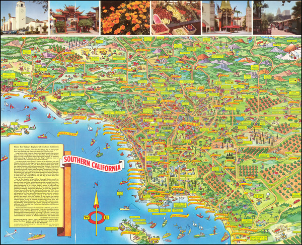 7-California Map By Don Bloodgood