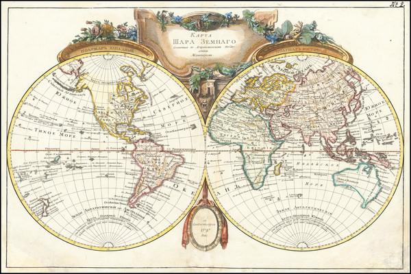 21-World Map By Jean Janvier