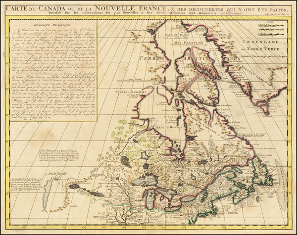 5-New England, Midwest and Canada Map By Henri Chatelain