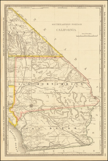 76-California and San Diego Map By Rand McNally & Company