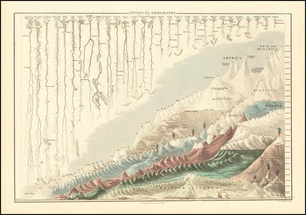 66-Curiosities Map By Adam & Charles Black