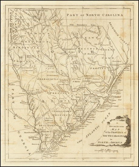 52-Southeast and South Carolina Map By Universal Magazine
