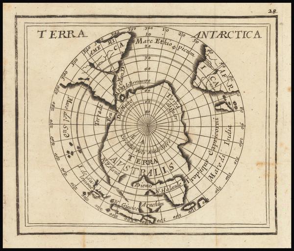 62-Polar Maps Map By Pierre Du Val