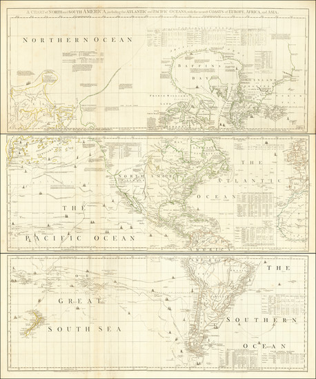 70-World, Pacific, California and America Map By Bradock Mead