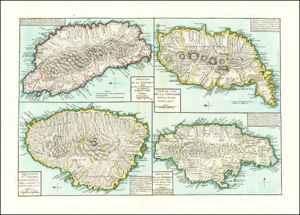 75-Jamaica, Hispaniola and Other Islands Map By Beteow