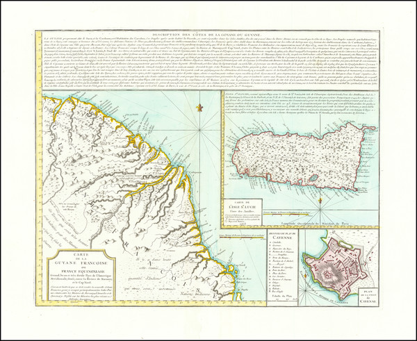 48-Other Islands and Guianas & Suriname Map By Beteow