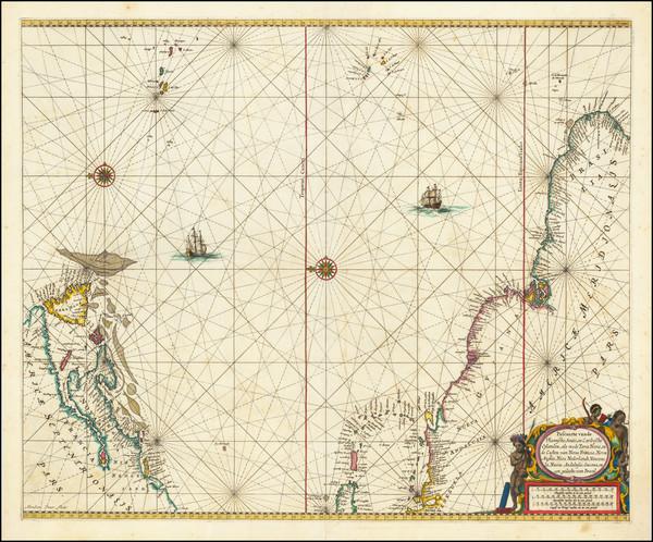 94-Atlantic Ocean, New England, Canada, Caribbean, Brazil, Guianas & Suriname and Venezuela Ma