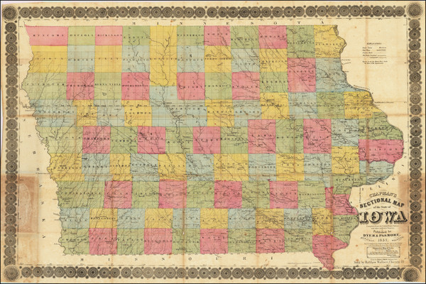 50-Iowa Map By Silas Chapman