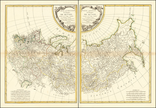 61-Russia and Russia in Asia Map By Jean Lattré