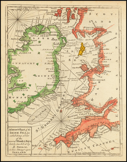 20-British Isles and Ireland Map By John Gibson