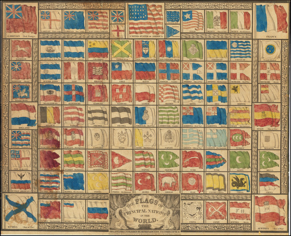 28-Texas and Curiosities Map By Hinman & Dutton