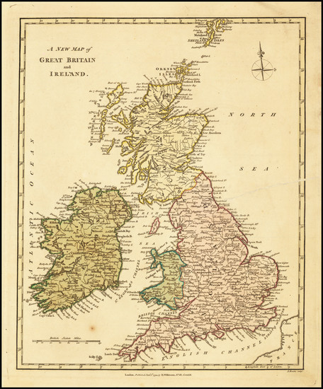 21-British Isles Map By Robert Wilkinson
