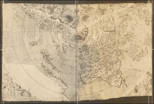 58-World Map By Giovanni Contarini / Francesco Rosselli