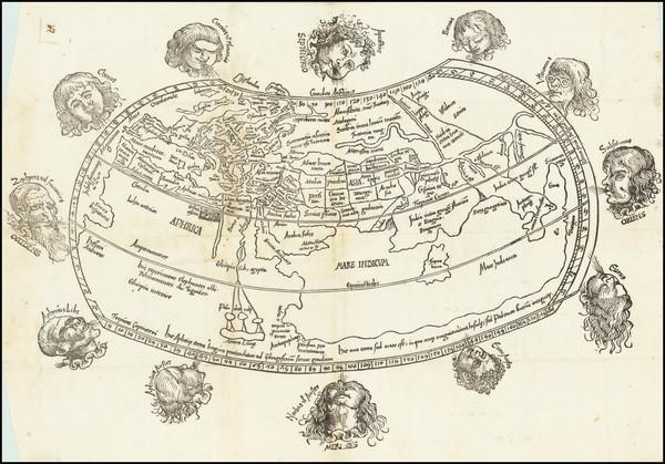 13-World Map By Gregor Reisch