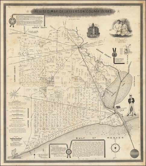 34-Texas Map By Pattillo Higgins