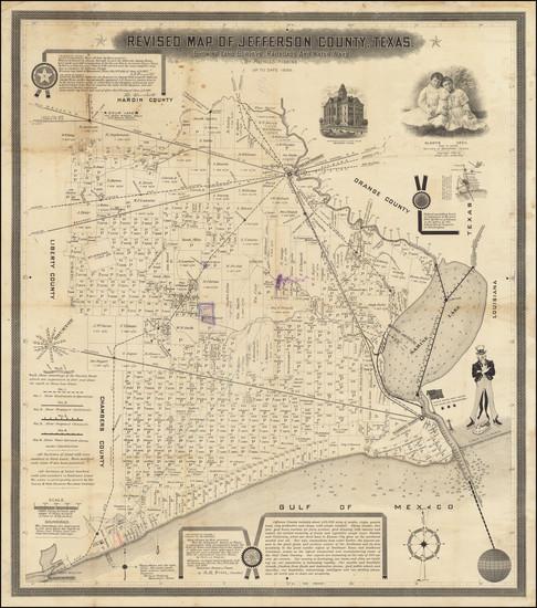 57-Texas Map By Pattillo Higgins