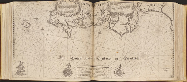 85-Europe and Atlases Map By Willem Janszoon Blaeu