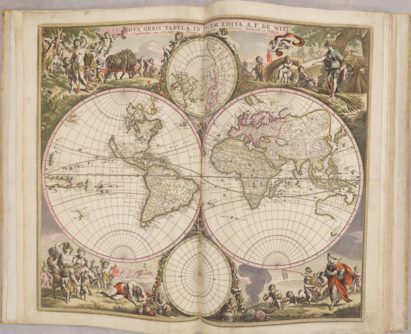 89-Atlases Map By Frederick De Wit