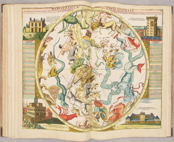 9-Atlases and Celestial Maps Map By Johann Gabriele Doppelmayr