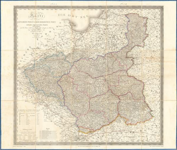 67-Poland Map By Friedrich Bernhard Engelhardt