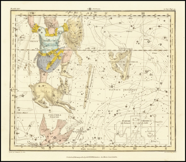 75-Celestial Maps Map By Alexander Jamieson