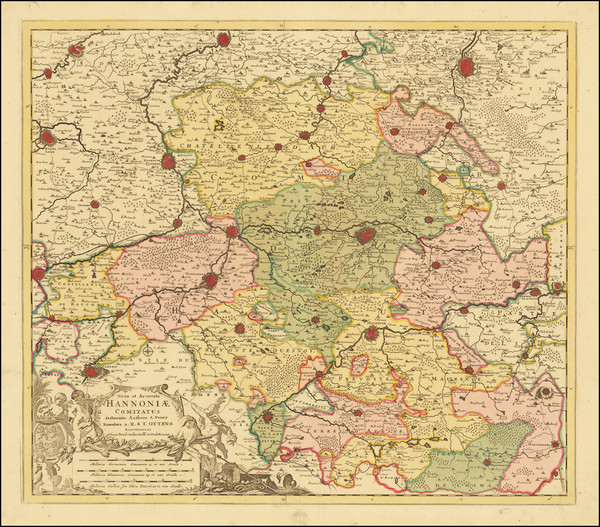 58-Belgium Map By Reiner & Joshua Ottens