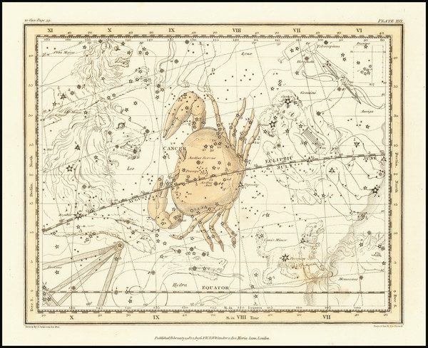 93-Celestial Maps Map By Alexander Jamieson