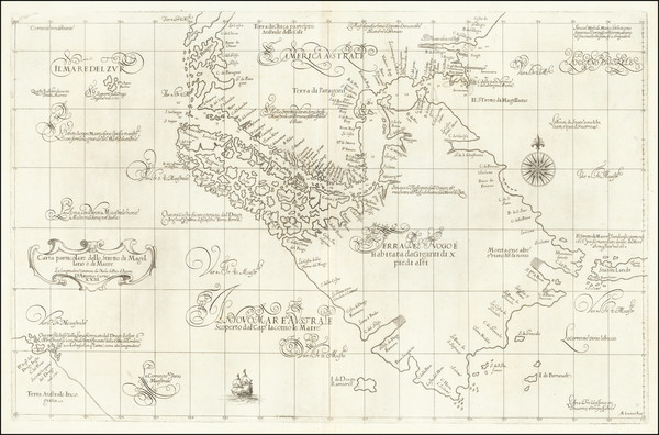 17-South America, Argentina and Chile Map By Robert Dudley