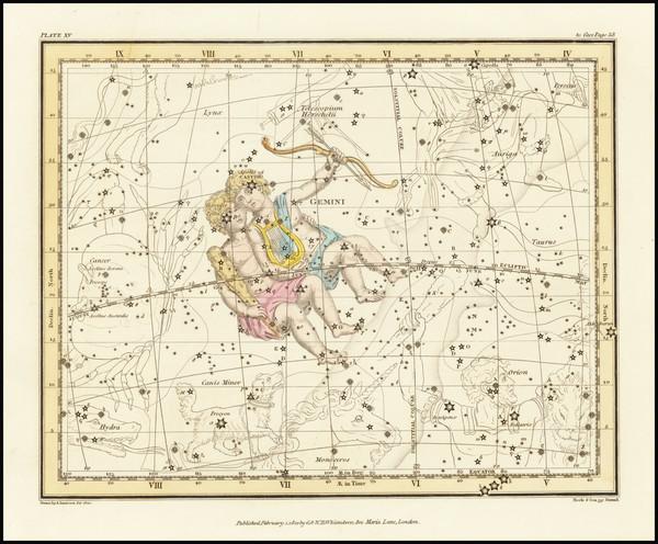 11-Celestial Maps Map By Alexander Jamieson